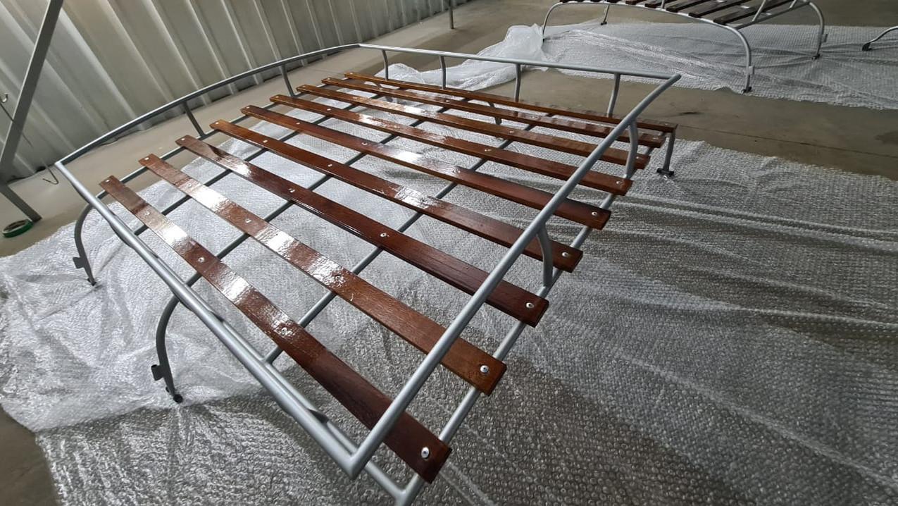 Gepäckträger Produktion T1