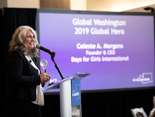 Celeste Mergens: 2019 Global Hero Award Recipient