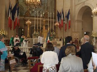 Monseigneur le Duc d'Anjou à la Messe de Fondation des Invalides