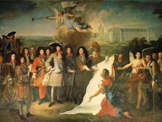 Monseigneur le Prince Louis de Bourbon, Duc d'Anjou, aux Invalides