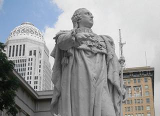 De Madame Royale à Louisville,  le destin d'une statue de Louis XVI