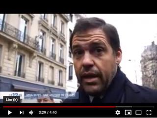 M6 présent le 20 janvier à Paris avec Monseigneur Louis de Bourbon, Duc d'Anjou