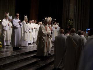 Messe d'installation de son Excellence Monseigneur Eric de Moulins-Beaufort, 111ème Archevêque d