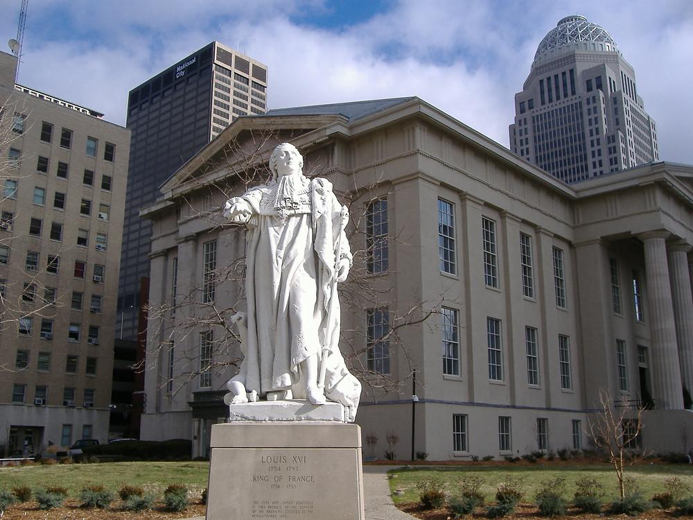 Statue de Louis XVI - Louisville Kentucky