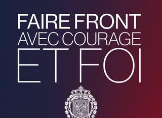 Faire front avec courage et foi
