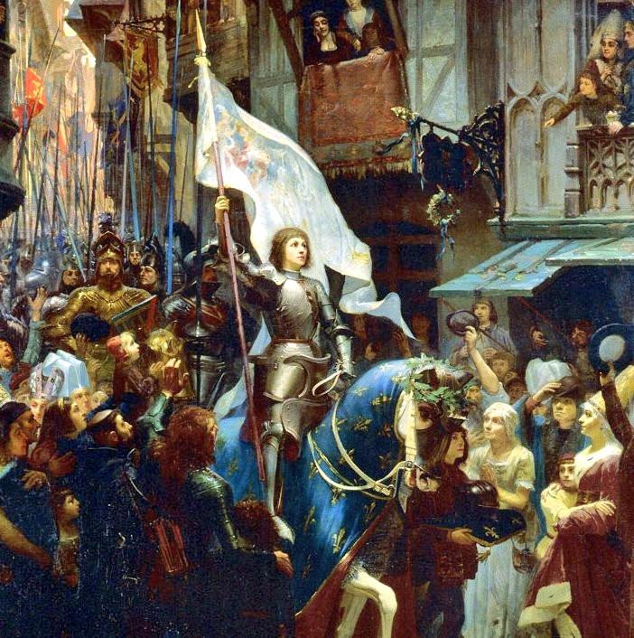 Sainte Jeanne d'Arc délivre Orléans