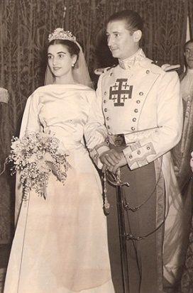 Mariage de la Duchesse de Franco