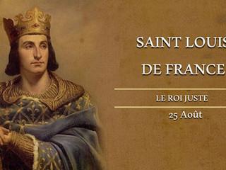 Déclaration de Mgr le Prince Louis de Bourbon, Duc d'Anjou, à l'occasion de la Saint-Louis l