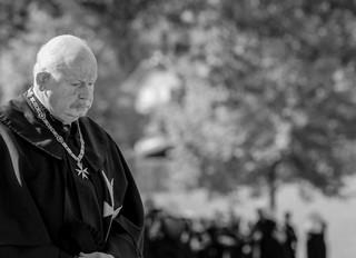 Message de Mgr le Duc d'Anjou suite au rappel à Dieu du Grand Maître de l'Ordre Souverain de Malte,