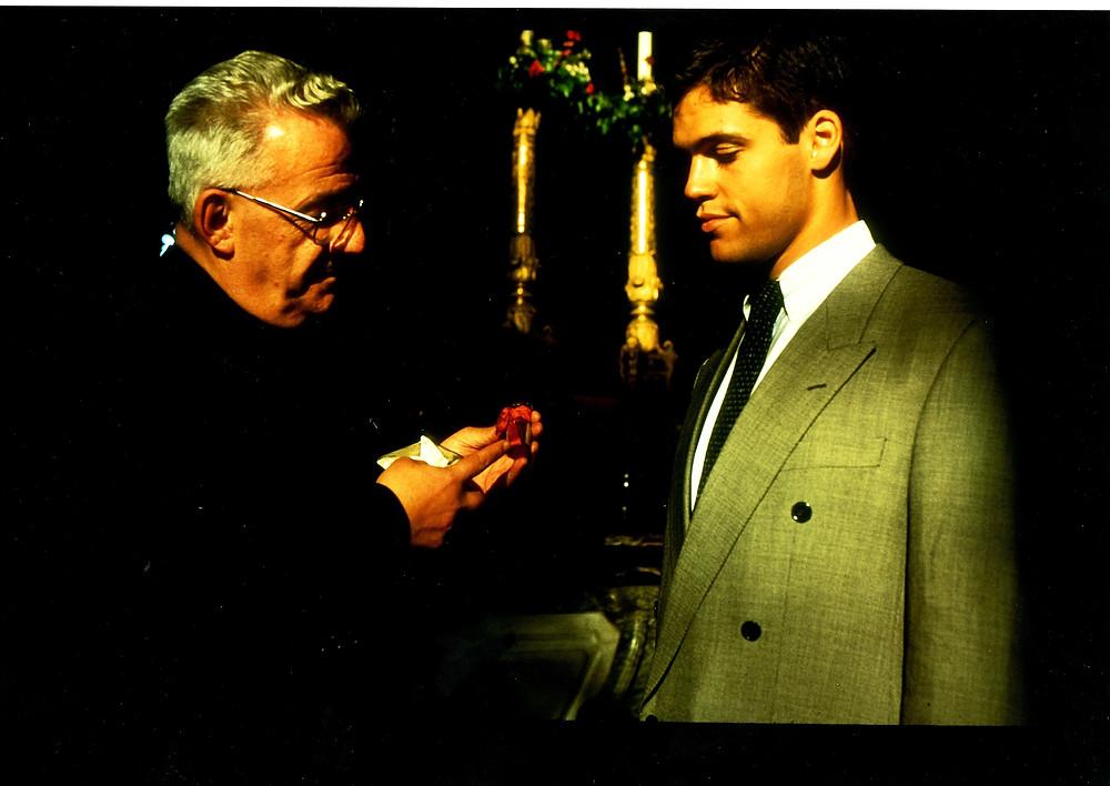 Le Prince et la Sainte-Ampoule, Reims, juillet 1996