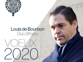 Voeux 2020 de Mgr Louis de Bourbon, Duc d'Anjou