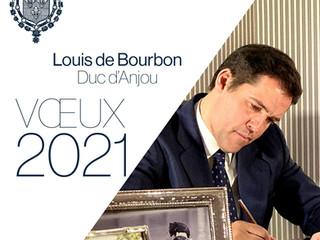 Voeux 2021 - Message de Mgr le Duc d'Anjou