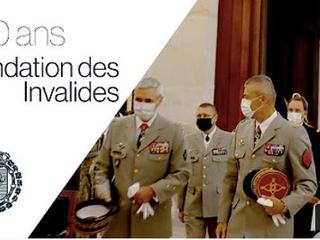350 ans de la fondation de l'Hôtel des Invalides - retour en vidéo