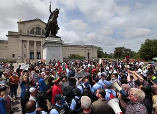 Défense de la statue de Saint-Louis à Saint-Louis du Missouri - Message de Mgr le Duc d'Anjou