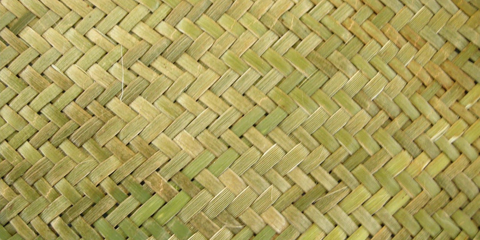 Flax Weaving Workshop - Tuesday