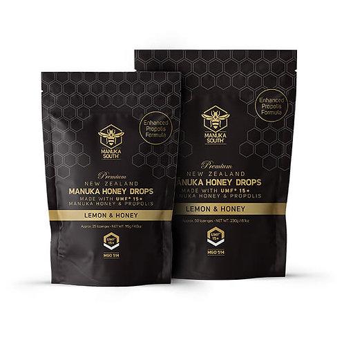 Manuka Honey Drops - Lemon & Honey