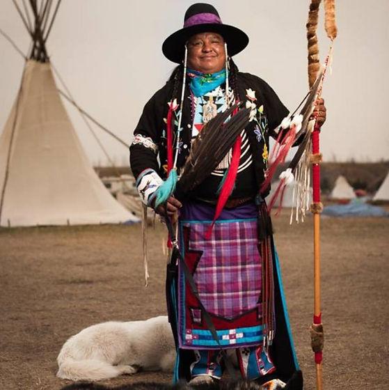 NANAMKIN - Standing Rock w tipi