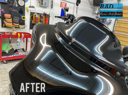 Harley Davidson After Polishing