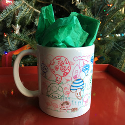 Gift Idea: Kids Art Mugs