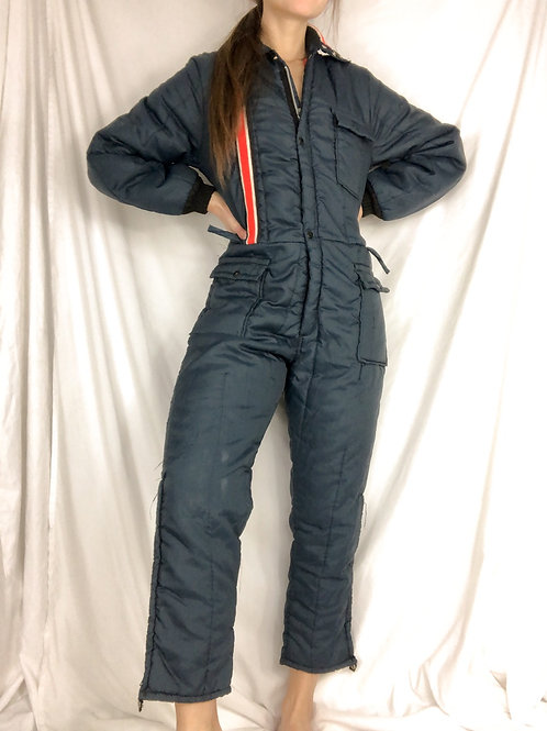 Navy Snowsuit-small