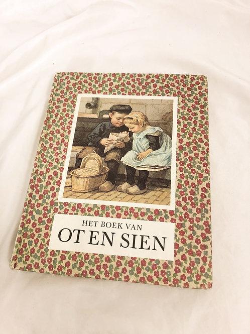 Vintage floral German book