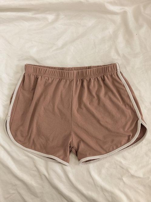 Pink shorts-XS