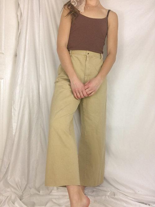 Vintage straight leg pants-large