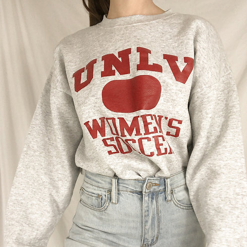 UNLV womens soccer sweatshirt-Large
