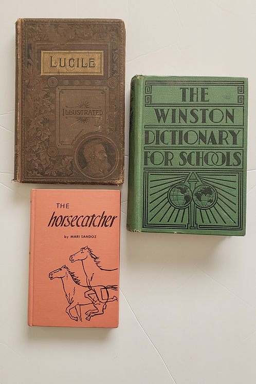 Set of 3 vintage books