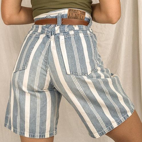 Striped shorts-medium