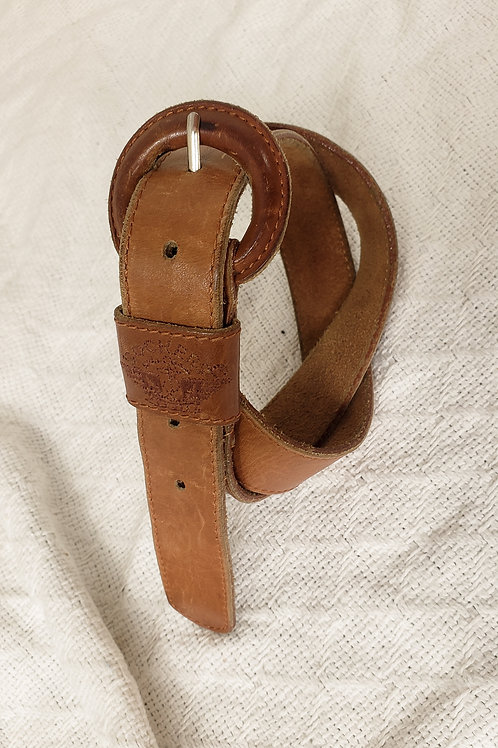 Leather belt-Medium