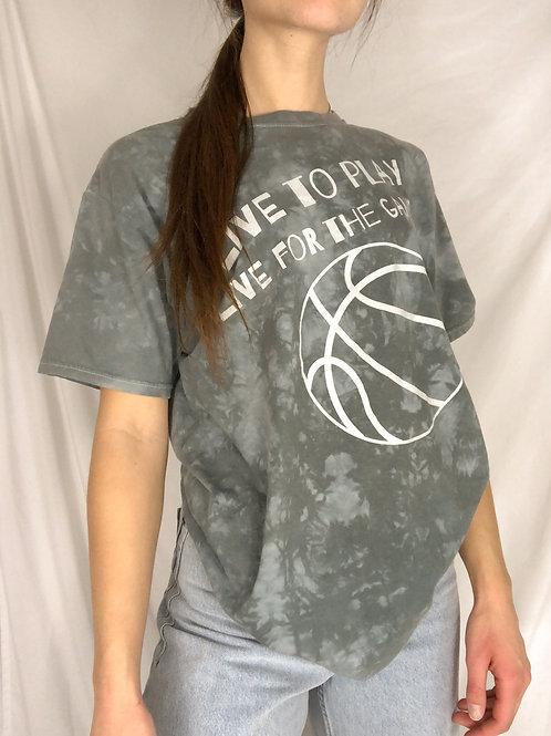 Tie dye basketball tee-medium