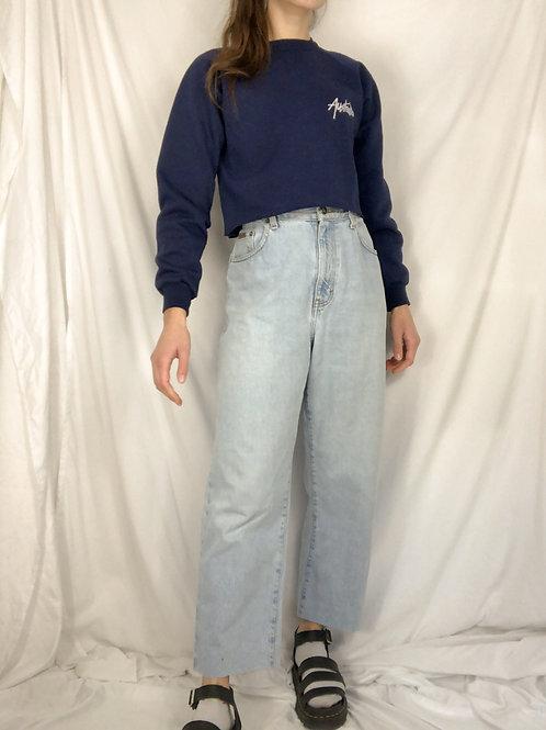 Raw hem Calvin Klein jeans-large