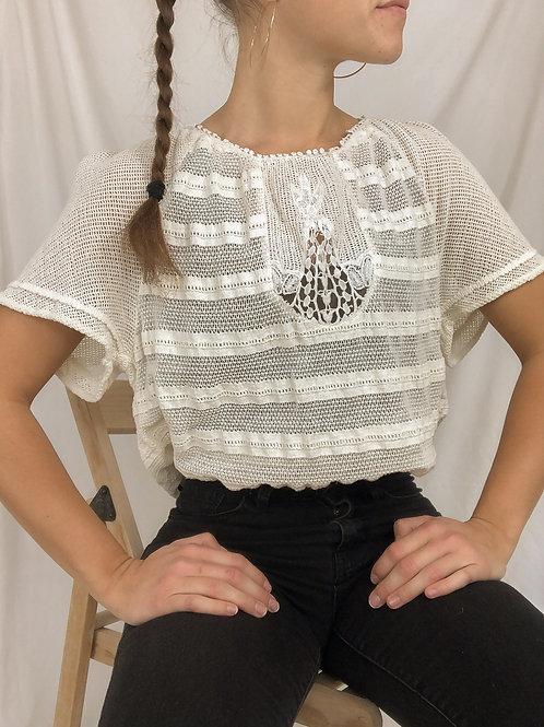 Crocheted top-medium