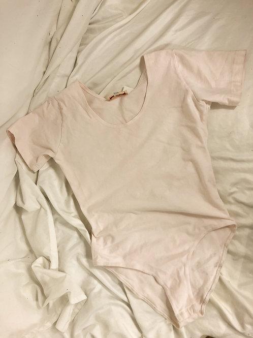 Vintage pink bodysuit-medium