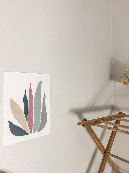 Color plant print