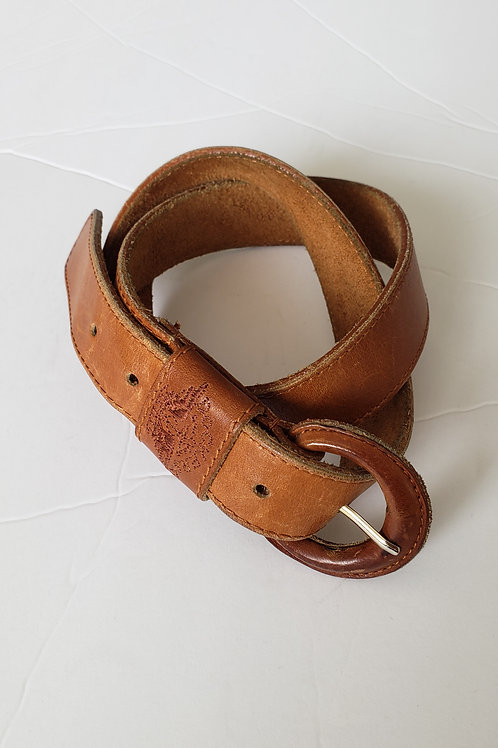Leather belt-28-32""