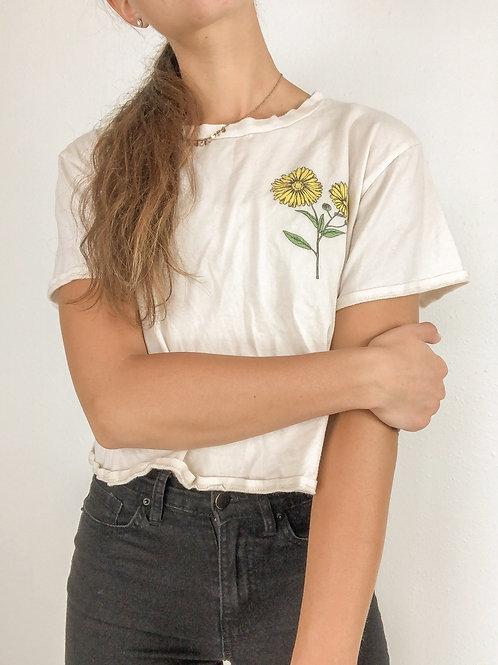 Flower tee-medium