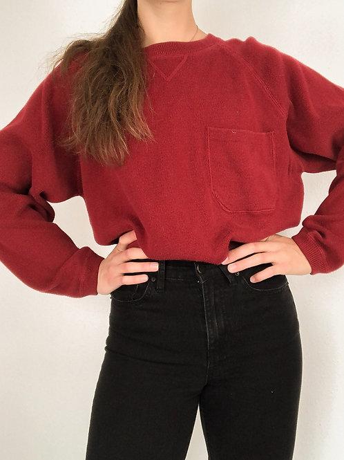 Maroon eddie bauer sweatshirt-medium