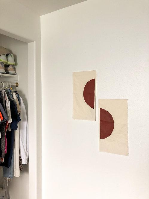 Round wall hang