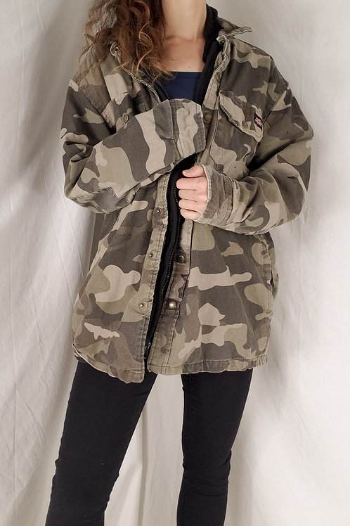 Dickies camo jacket-Medium