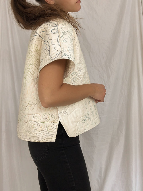 Embroidered top-small