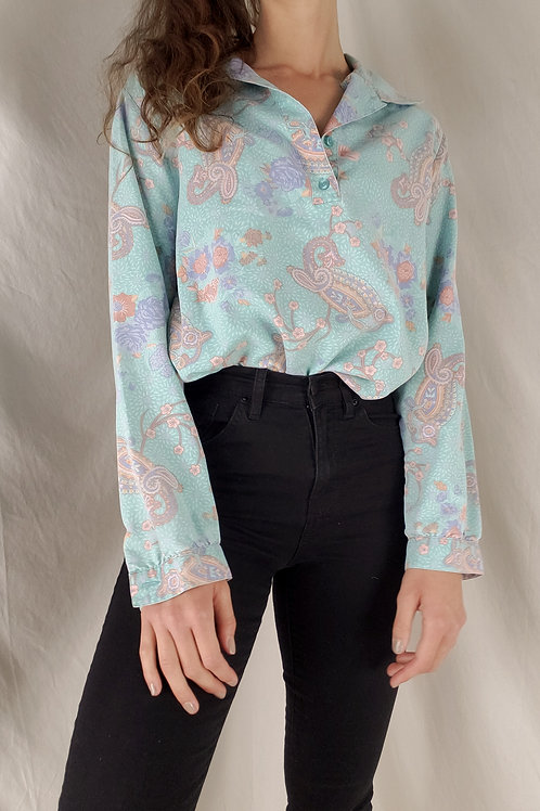 Vintage Paisley top-Small
