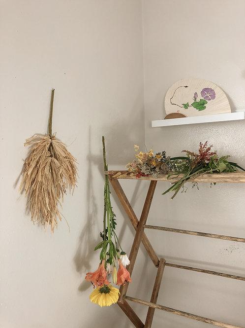 Broom wall decor