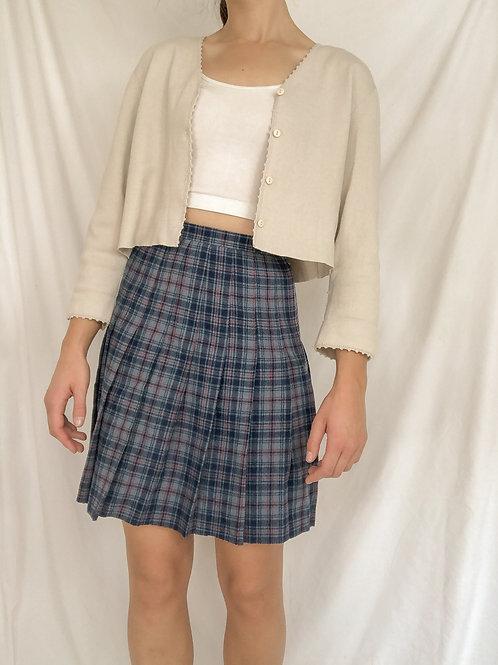 Plaid skirt-Medium