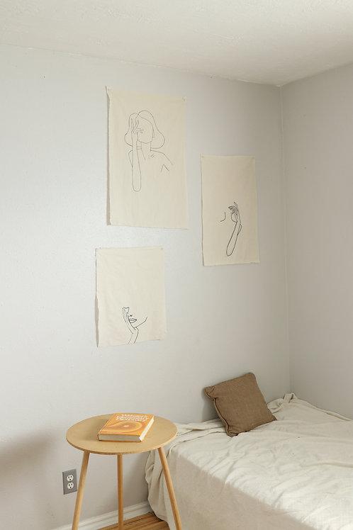 Set of 3 wall decor
