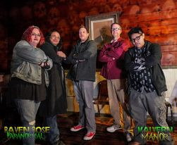 RAVEN ROSE PARANORMAL INVESTIGATION haunted horror film & paranormal investigation festiva