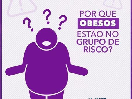 Por que Obesos estão no grupo de risco?