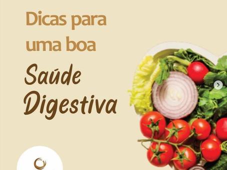 Dicas para uma boa Saúde Digestiva