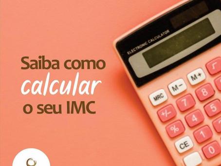 Saiba como calcular o seu IMC!